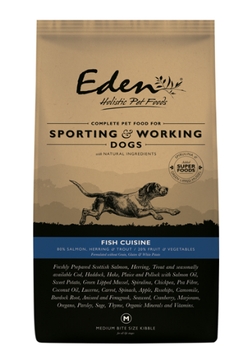 Eden Working Dog Fish Cuisine